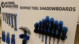 tool shadow board creation
